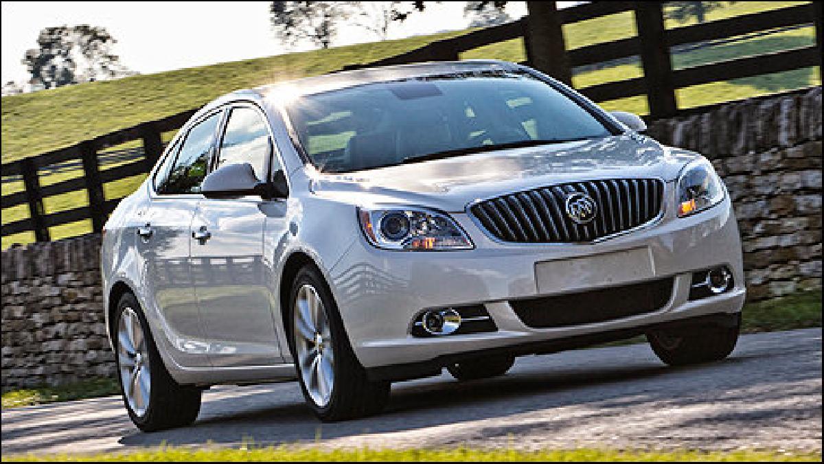 Buick Verano 2013 : pour les 65 ans et moins!