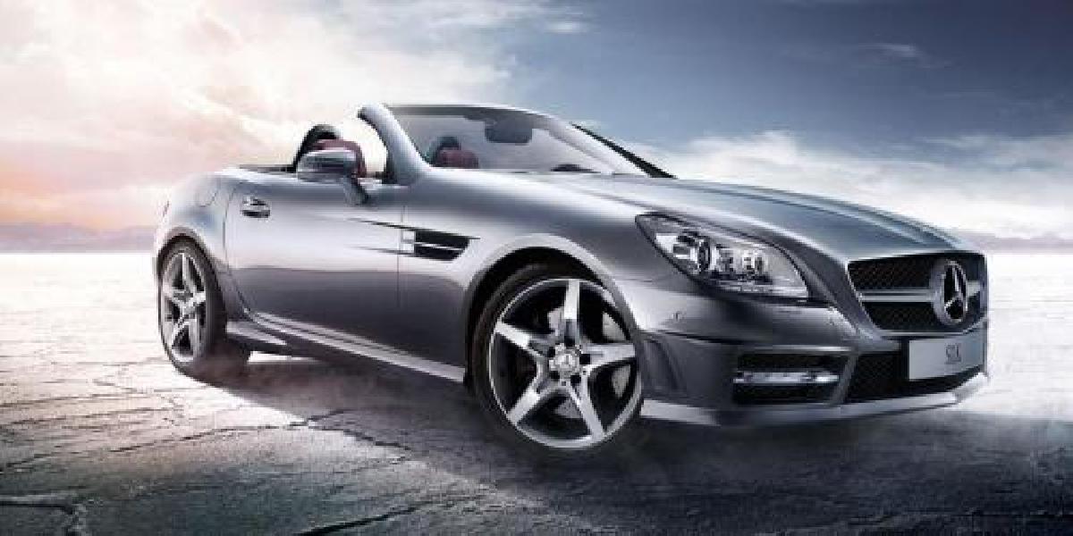 Mercedes:Benz Classe SLK 2013 : avoir de la classe avec les cheveux dans le vent!
