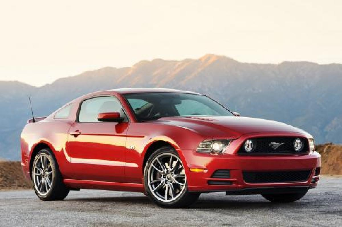 Ford, Mustang, 2013