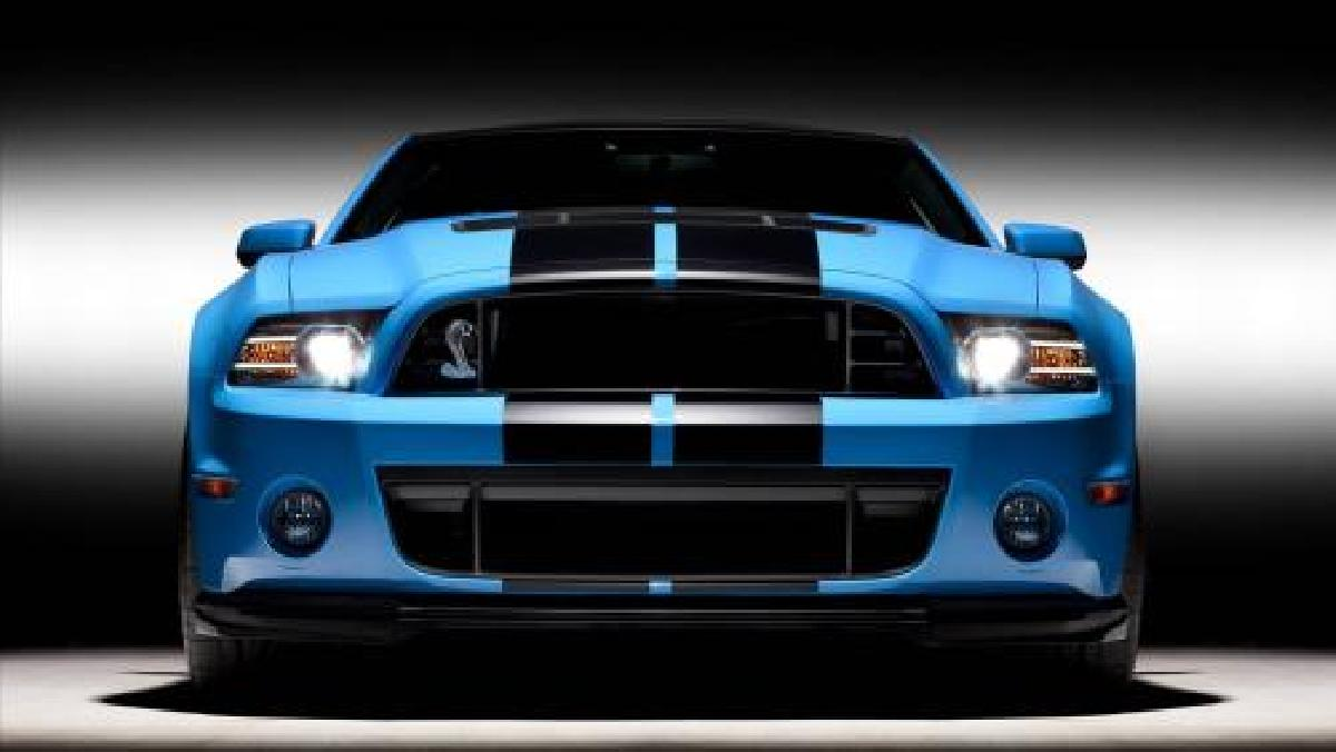 Ford, shelby, GT, GT500, 2014