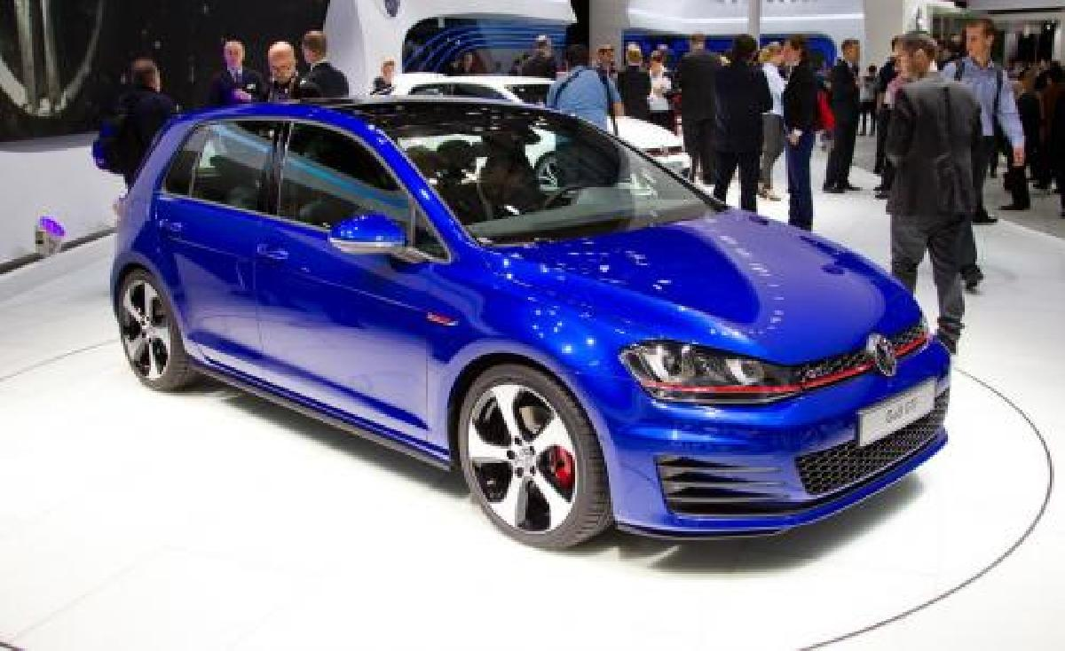 Volkswagen, Golf, GTI, 2014