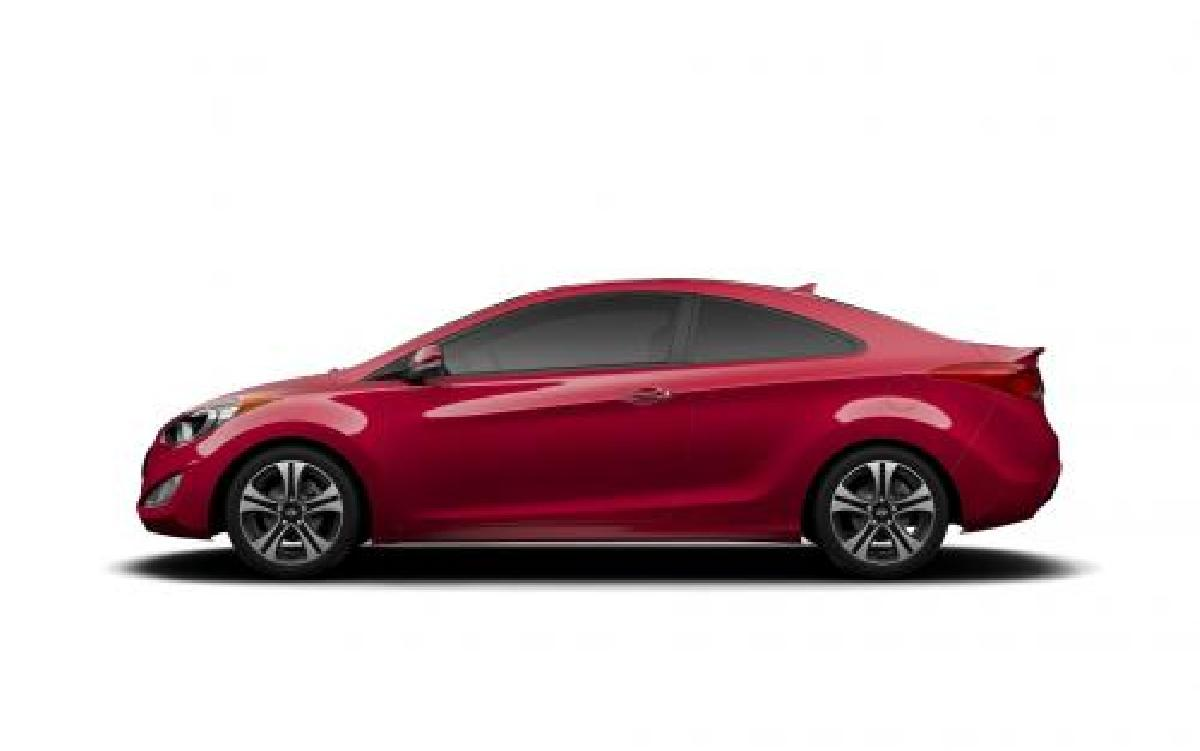 Hyundai, Elantra, Coupe, 2014
