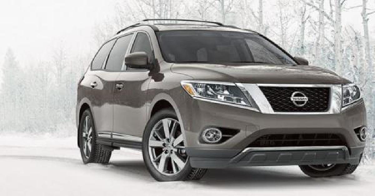 Nissan, Pathfinder, 2014