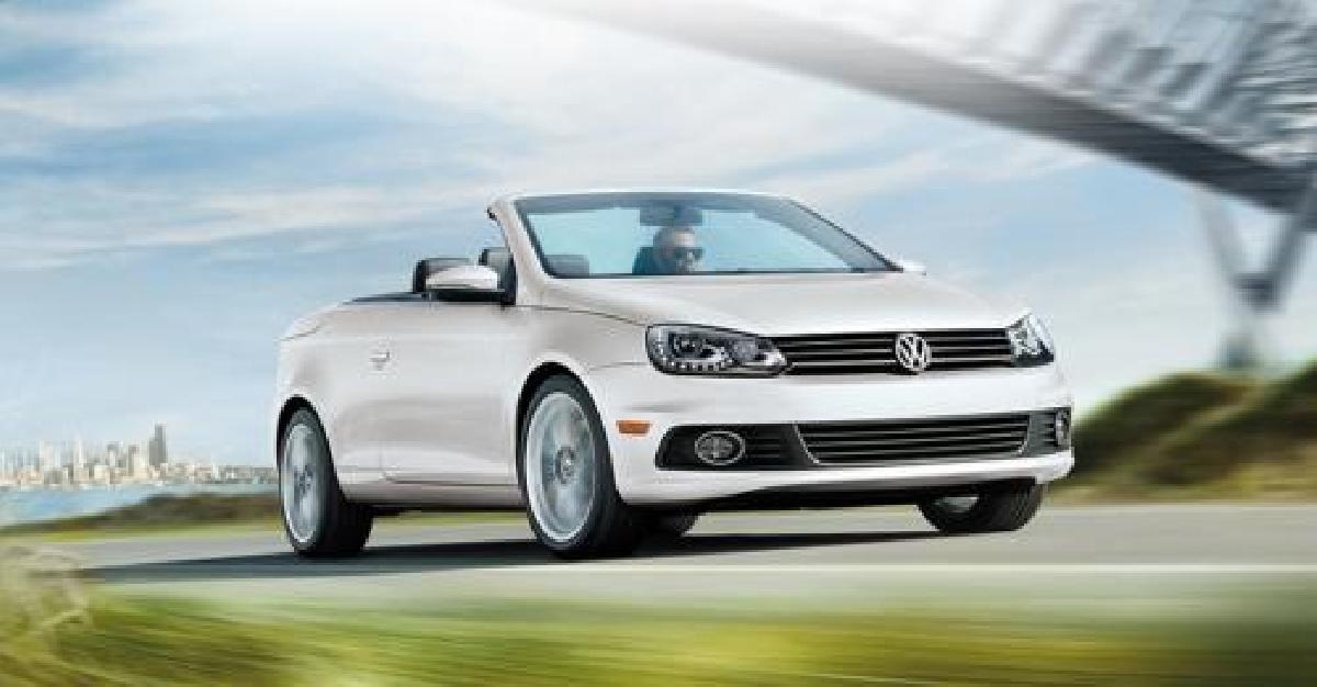 Volkswagen Eos 2014 : Les cheveux dans le vent