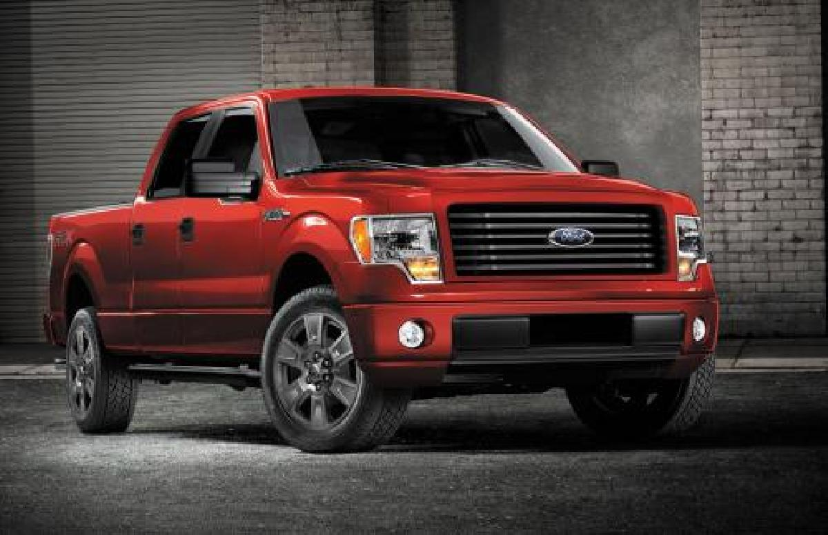 Ford, F-150, 2014