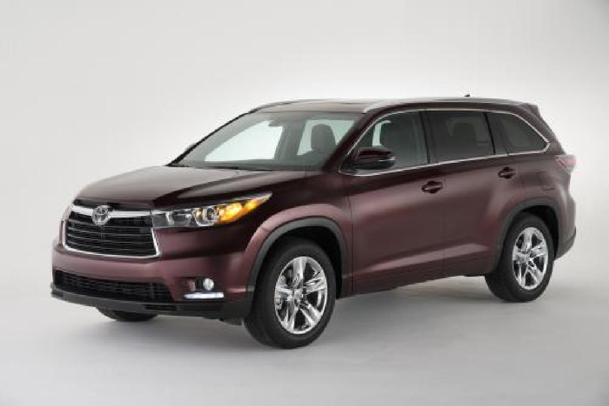 Toyota, Highlander, 2014