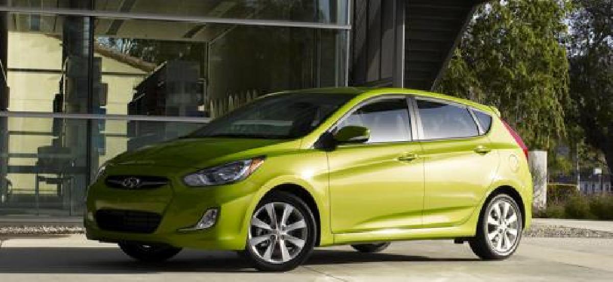 Hyundai Accent 2015 d'occasion : des petits paiements longtemps...