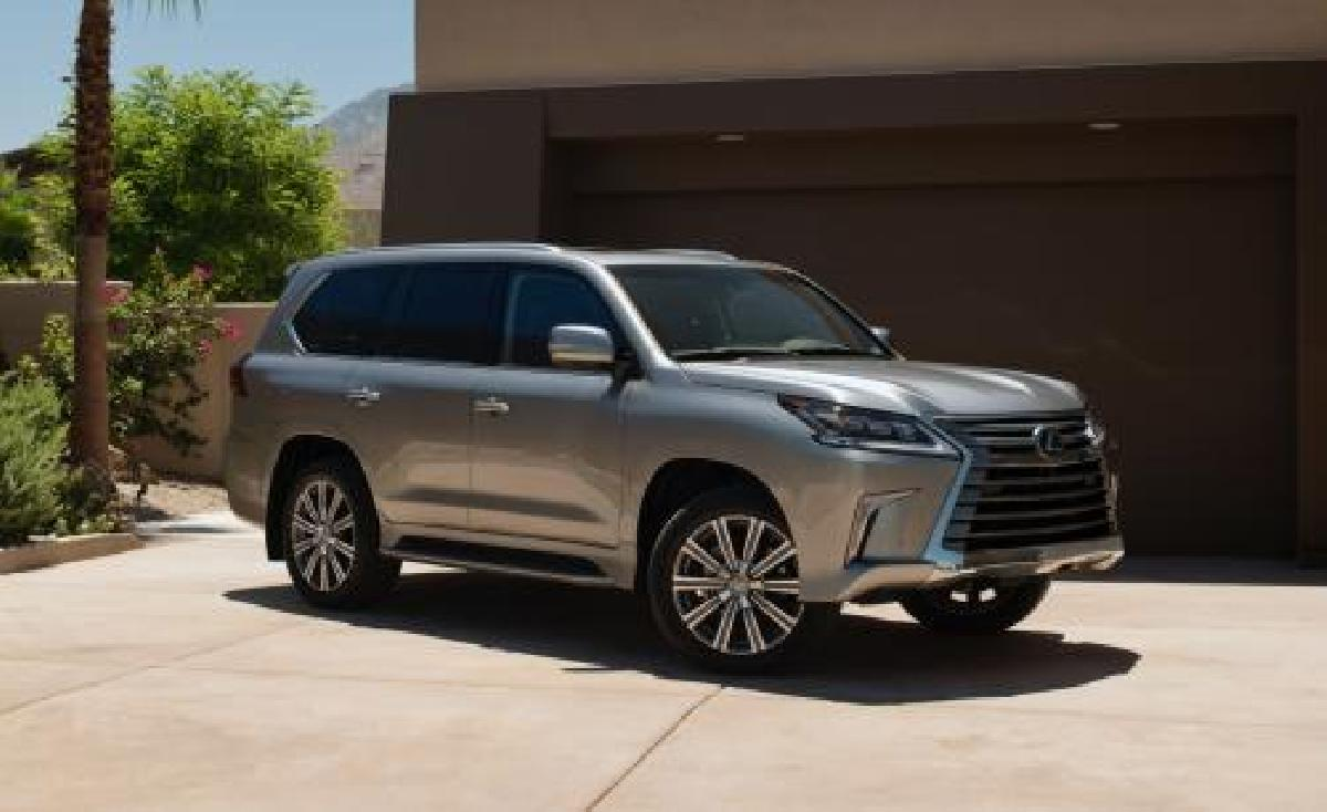 Lexus LX 2015 d'occasion : un concept d'une autre �poque