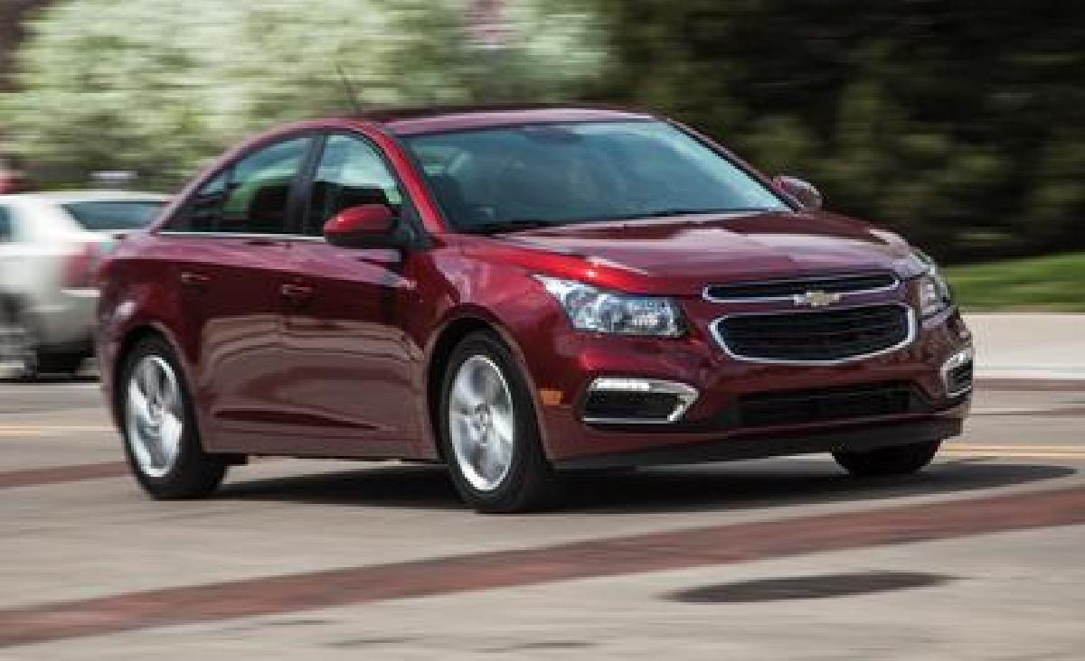 Chevrolet Cruze 2015 d'occasion : oui pour le di�sel!