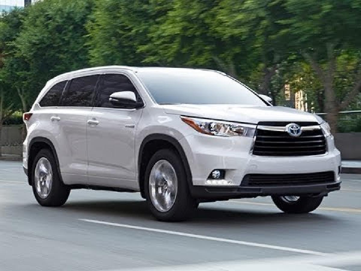 Toyota Highlander 2015 d'occasion : Une valeur de revente assur�e!