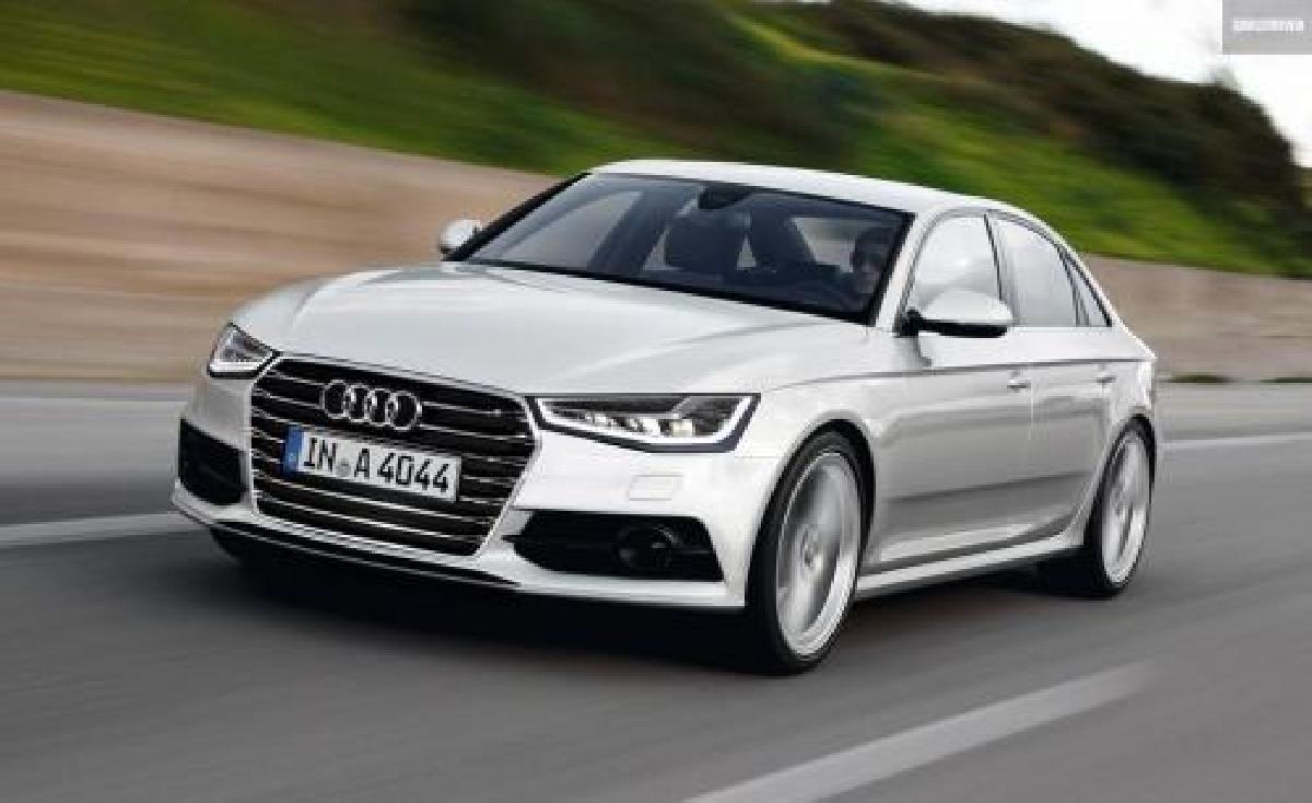 Audi A4 2015 d'occasion : L'enfant du milieu