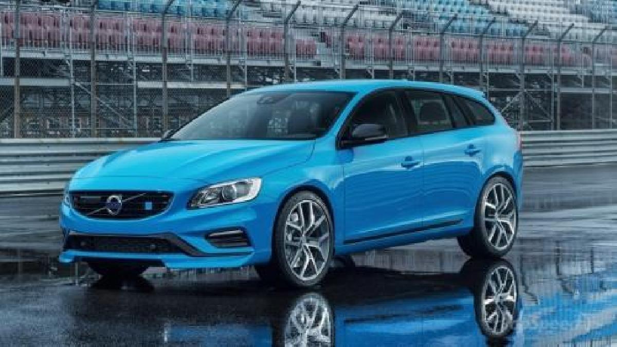 Volvo V60 2015 d'occasion : La reine des neiges