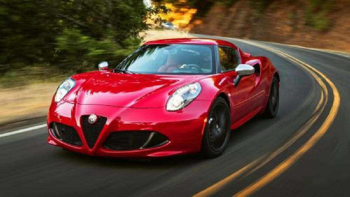 Alfa Romeo 4C 2015 d'occasion