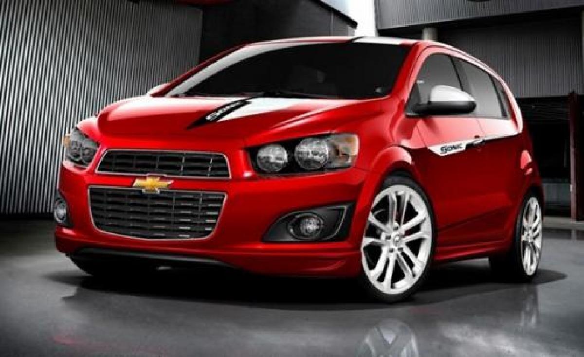 Chevrolet, Sonic, 2016