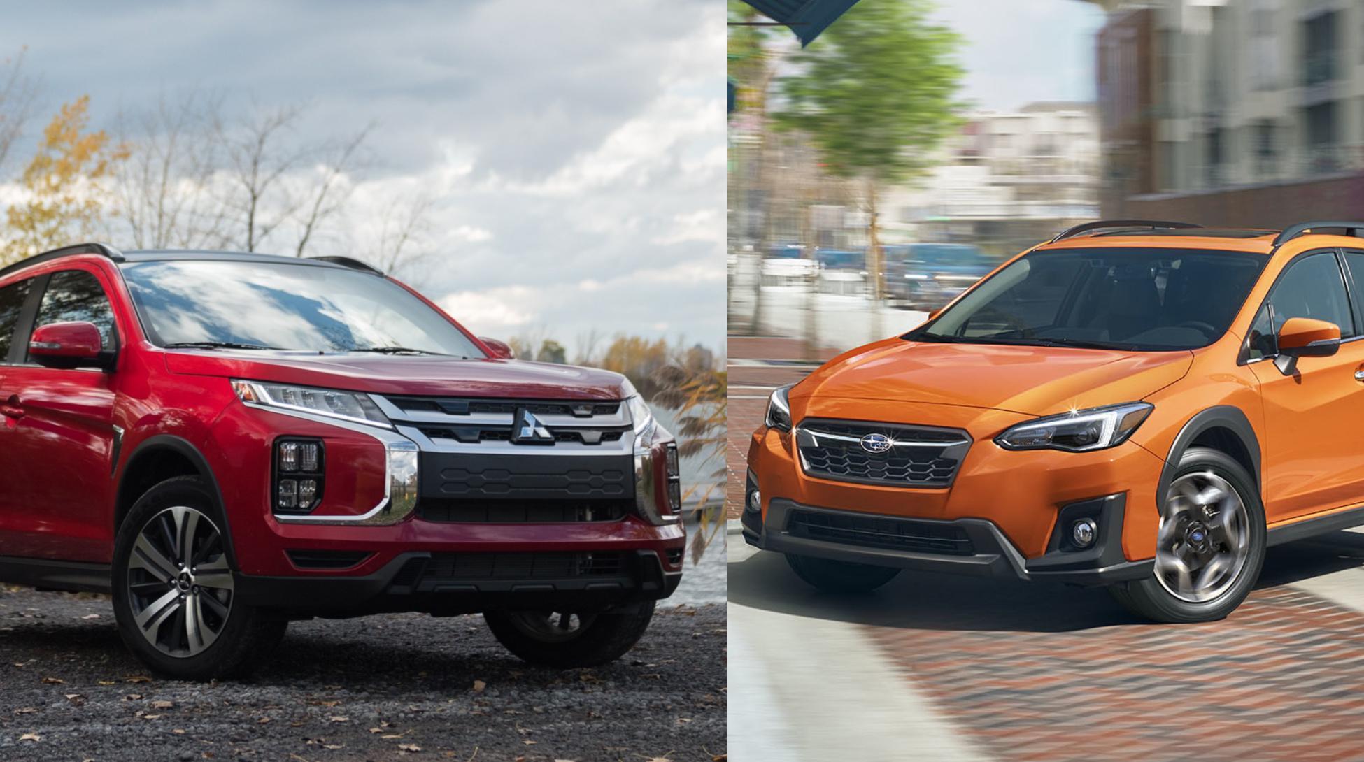 Mitsubishi RVR 2020 vs Subaru Crosstrek 2020