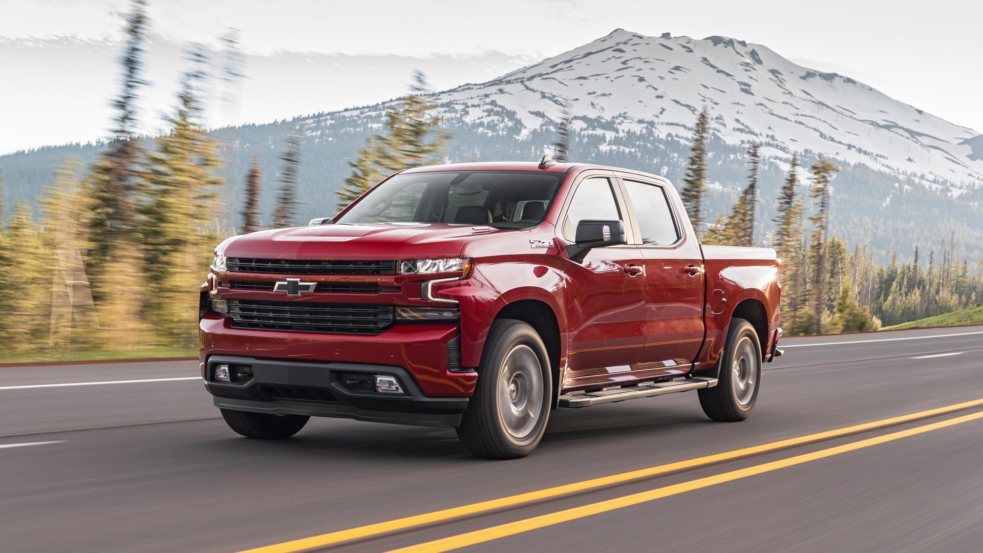 Chevrolet, Silverado, 1500, 2020