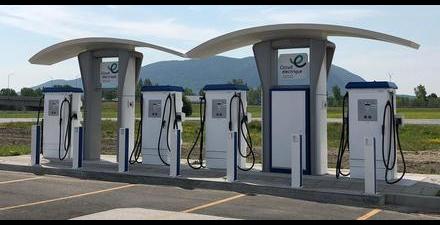 10 endroits inusités où l'on trouve des bornes de recharge au Québec