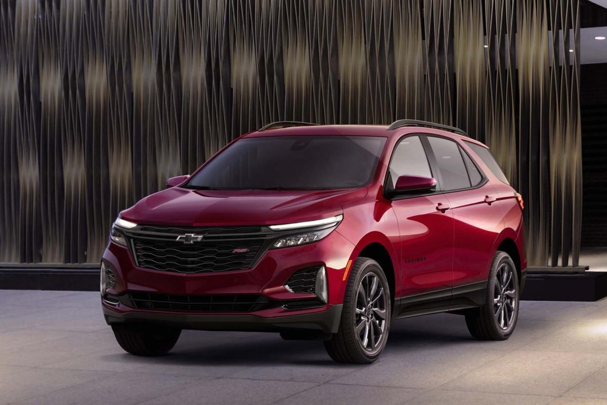 Chevrolet, Equinox, 2021