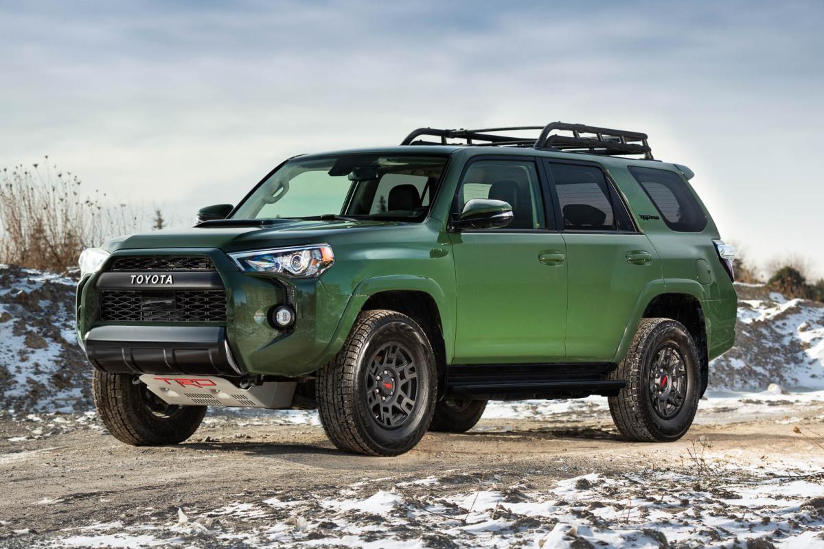 Toyota, 4Runner, 2021,