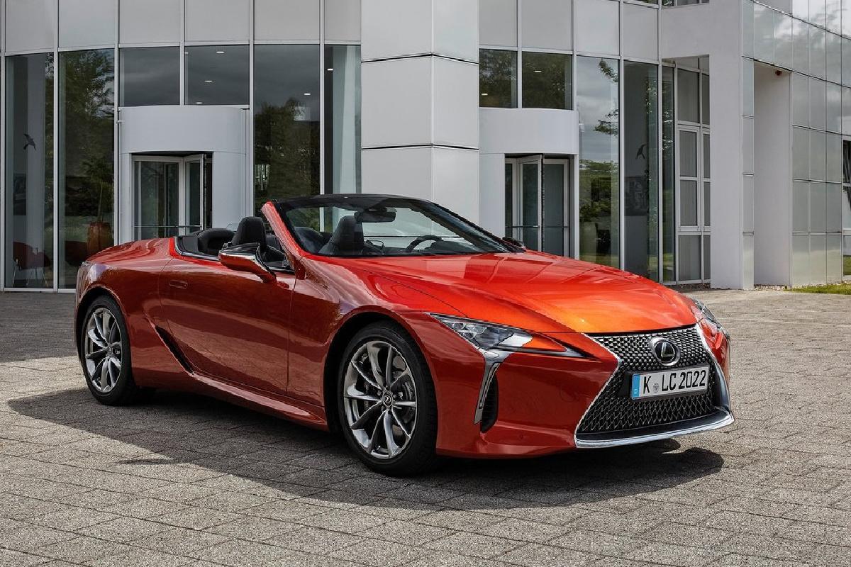 Lexus, LC, 2021
