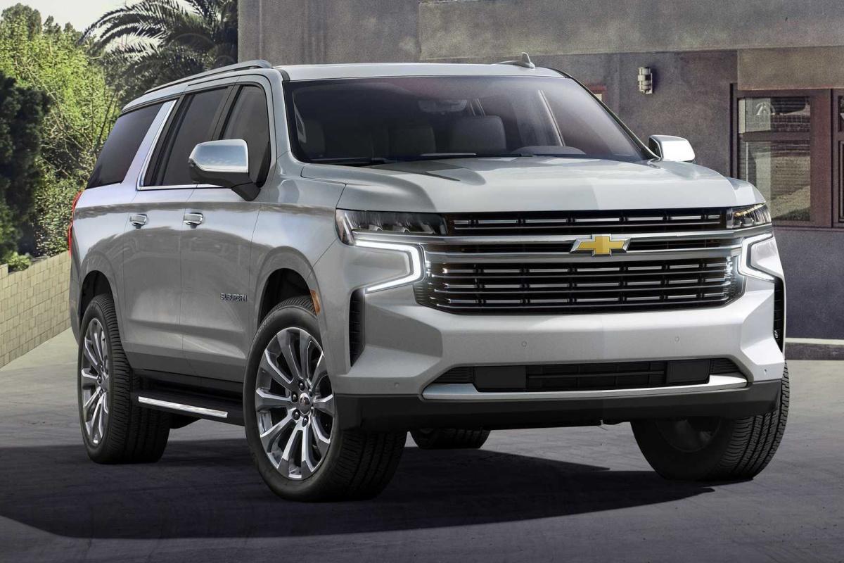Chevrolet Suburban 2021 : un nouveau tuxedo