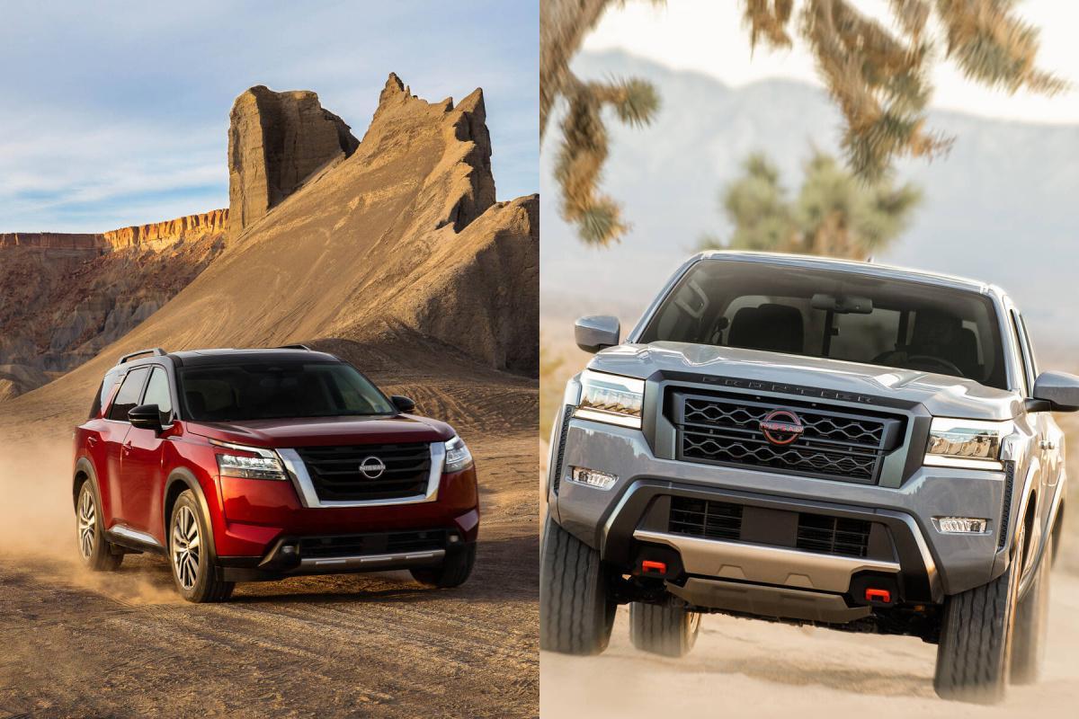 Nissan Frontier Pathfinder 2022
