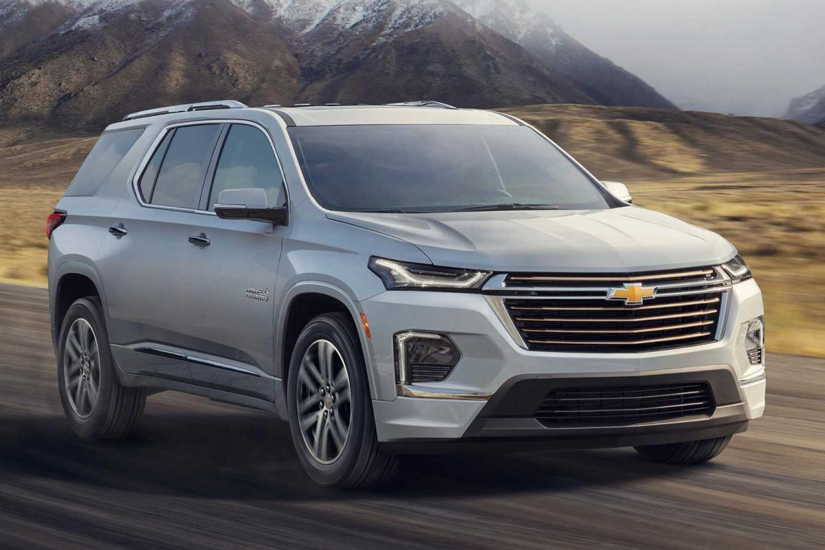 Chevrolet, Traverse, 2021