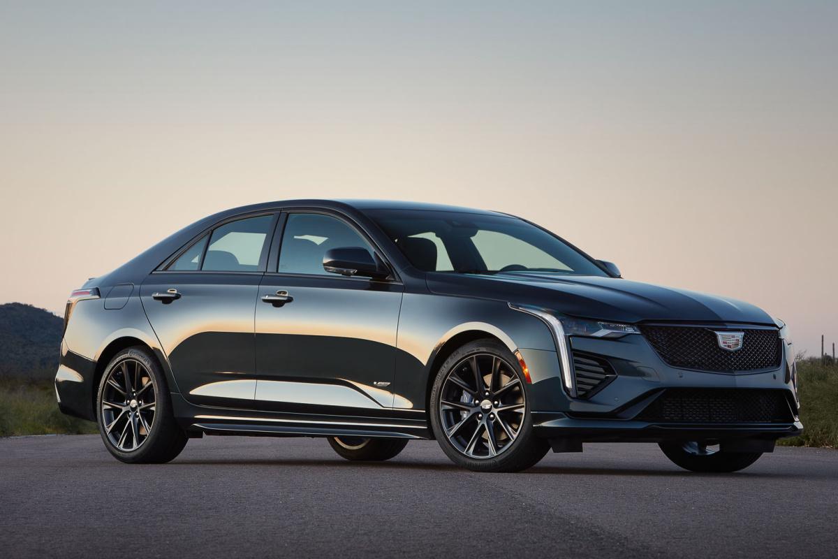 Cadillac CT4 2021: un agent secret américain