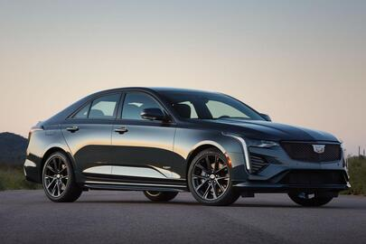 Cadillac CT4 2021: un agent secret américain