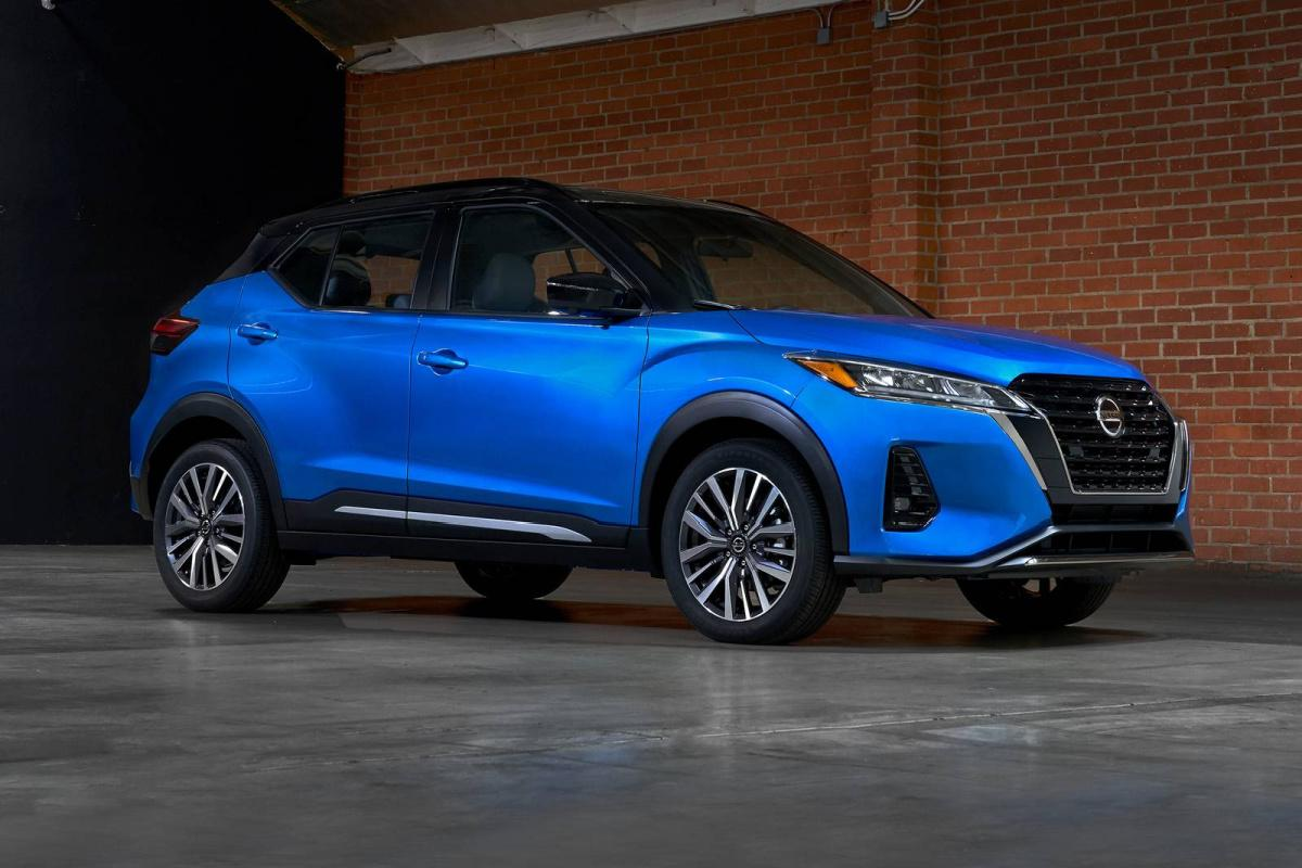 Nissan, Kicks, 2021