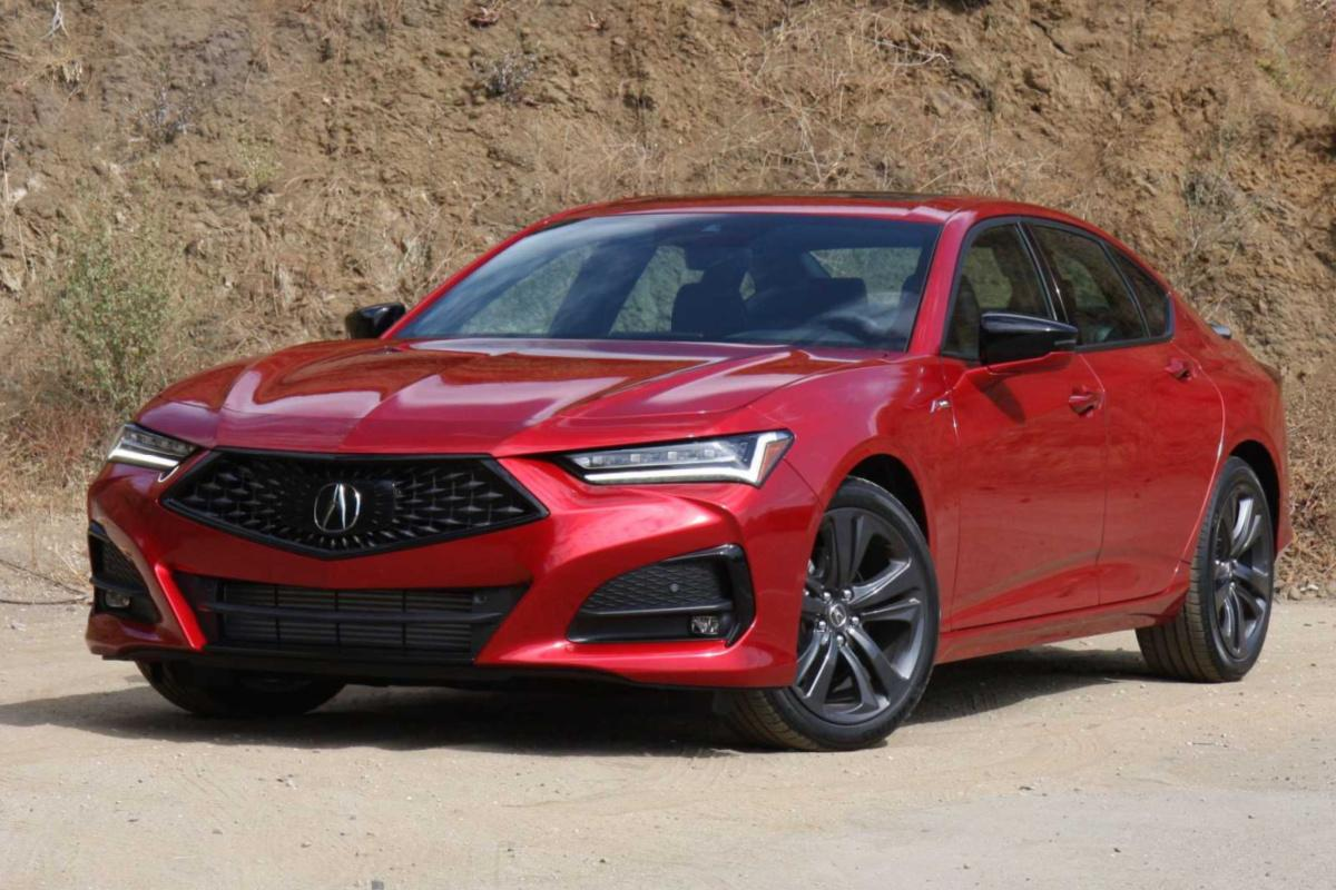 Acura TLX A Spec 2021