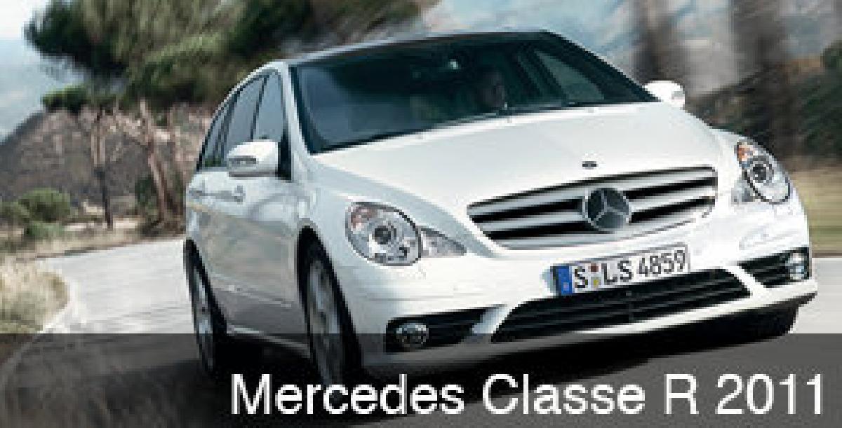 Essai Mercedes Classe R 2011? Limousine familiale