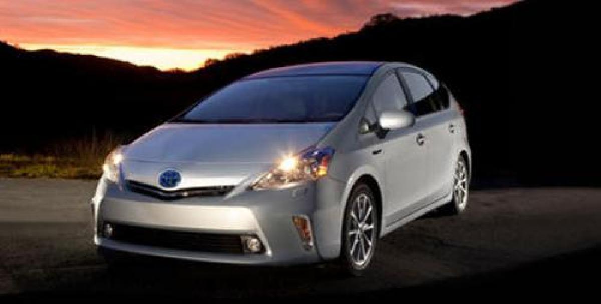 La Toyota Prius V hybride 2012 a fait ses débuts à Detroit
