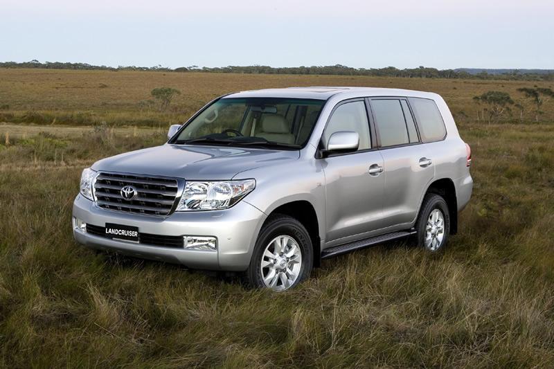 Le Land Cruiser 2008 de Toyota sera présenté à Syndey
