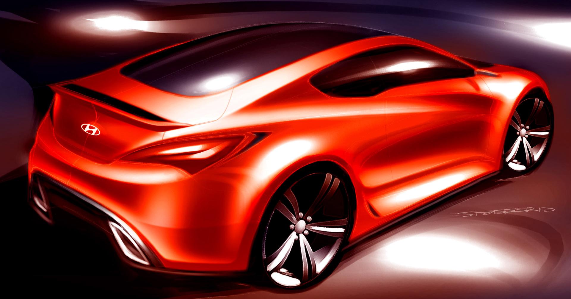 Aperçu de la Hyundai Genesis Coupe