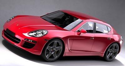 Des photos de la Porsche Panamera