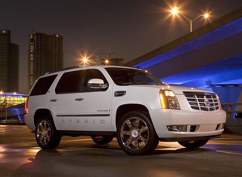 La Cadillac Escalade 2008
