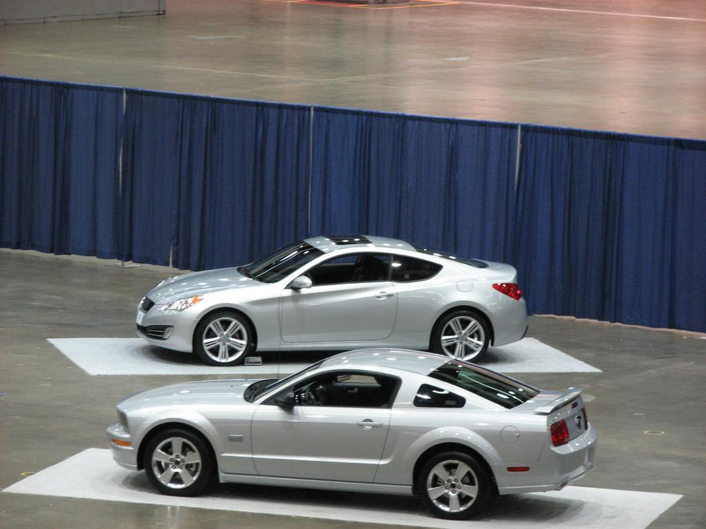 De premières images de la Hyundai Genesis Coupe