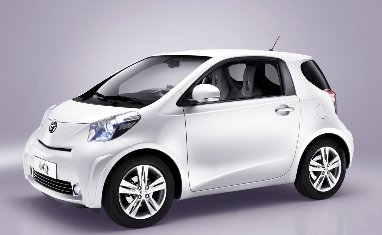 Une image de la Toyota IQ de production