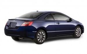 Honda révèle la Civic Coupe 2009