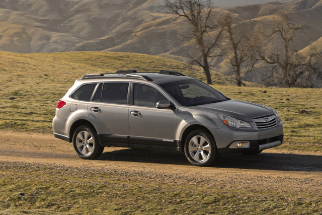 Subaru Outback 2010 : Consommation