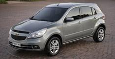 Chevrolet Agile 2010 dévoilée