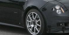 Cadillac CTS:V coupé 2011: Photos:espionnes
