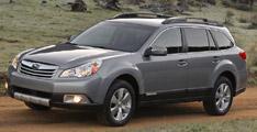 VUS de l'année: Subaru Outback 2010
