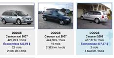 Dodge Caravan à louer
