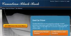 Canadian Black Book : Prix auto usagée