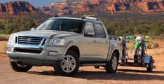 Ford Explorer 2011 : Sport Trac non disponible