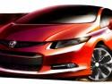 Honda Civic 2012:au Salon de L'Auto à Détroit.