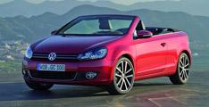 Volkswagen Golf Cabriolet 2012