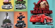 Honda Civic 2012 : Nouvelle campagne publicitaire